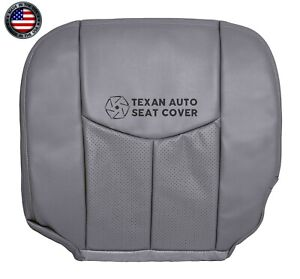 2004 2005 Cadillac Escalade Esv Driver Bottom Synthetic Leather Seat Cover Gray