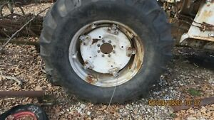 18 4 X 30 Tractor Tires And Spin Out Rims