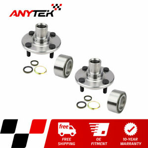 Pair Front Wheel Hub Bearing For 1993 01 2002 Toyota Corolla Chevy Prizm W O Abs