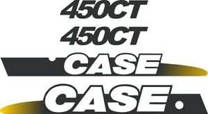 Case 450ct Skid Loader Replacement Decals Sticker Decal Kit Ns