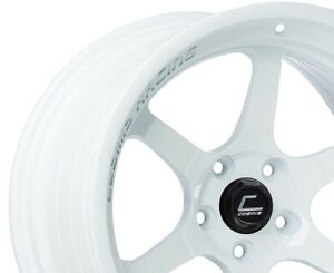 Cosmis Racing Xt006r 18x11 8 5x114 3 White pair 2 Wheel Only