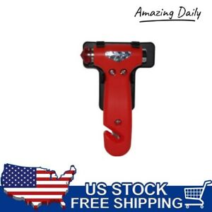 New Emergency Escape Tool Auto Car Window Glass Hammer Breaker Seat Belt Cutter