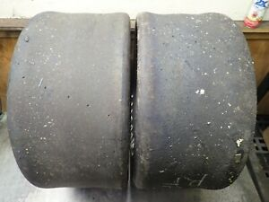 2 27 0 10 0 15 Hoosier F55 Race Slick Tires 3 4 32 No Repairs 12
