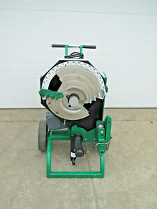 Greenlee 555cx 1 2 1 1 4 Emt Imc Rigid Conduit Pipe Bender Mint Used