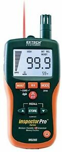 Extech Mo295 Pinless Moisture Meter And Ir Thermometer