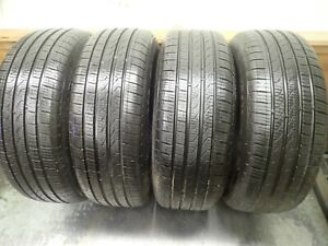 4 205 55 16 91h Pirelli P7 Cinturato Tires 9 32 No Repairs 4916