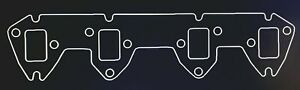Gbe Ford Fe 360 390 428 3 8 Steel Exhaust Header Flanges Graph lite Gaskets