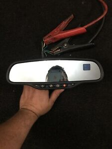 03 06 Chevy Silverado Gmc Sierra Rear View Mirror Compass Temperature On Star