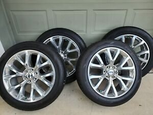 22 Ford Expedition F150 Lincoln Navigator Oem Wheels Tires 2018 2019 2020