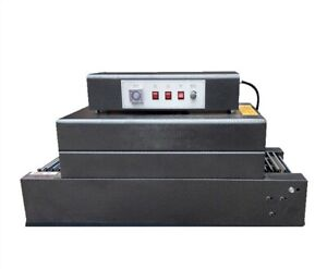 Bs 300 150 Automatic Heat Shrink Packing Machine Tunnels For Pp Pof Pvc New Su