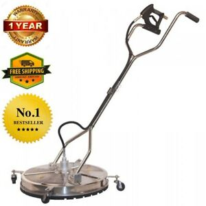 24 In Concrete Stainless Steel Pressure Washer Surface Cleaner Whirl a way