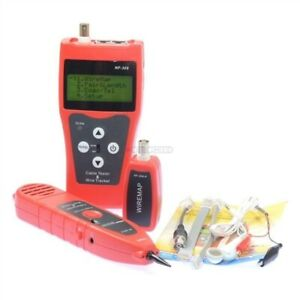 Lcd Network Lan Cable Tester Wire Tracker Tracer Length Scanner Nf 308 Ix