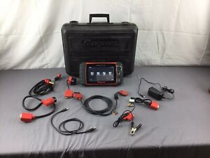 Snap On Eesc318 Solus Ultra 17 4 Diagnostic Scanner In Case With Extras See Pic