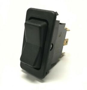 Eaton 0821 Momentary Rocker Switch On off on 3 Position 6 Pin