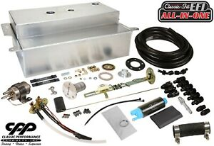 1955 59 Chevy Gmc Truck Fuel Injection Efi Aluminum Gas Tank Kit Bed Fill 30ohm