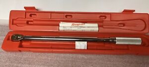 Snap on near Mint 1 2 Brutus 3r250d Torque Wrench Cost 409 00 New rb