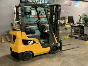 Caterpillar 3500 Lb Forklift Tow Motor Lift Truck Lp Gas Hydraulic C3500 lp