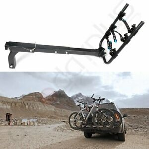Bike Rack Bicycle Cargo Hitch Mount Double Foldable For Car Truck Suv Universal