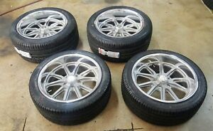 18 Staggered Us Mag Rambler Wheel tire Package 18x8 18x9 5 5 4 75