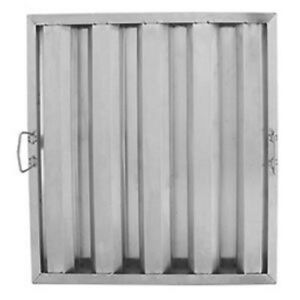 20 X 20 X 2 Stainless Steel Commercial Kitchen Exhaust Hood Grease Filter