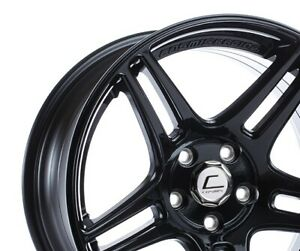 Cosmis Racing S5r 18x9 26 5x114 3 Black Set Of 4
