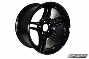 Cosmis Racing S5r 18x10 5 20 5x114 3 Black Set Of 4