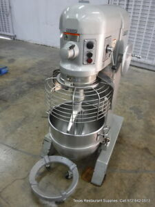 Hobart H600t Commercial Mixer 60 Quart With Paddle And Dolly