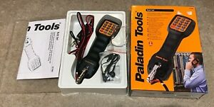 New Open Box Paladin Tools Telephone Butt Set 1780 Portable Handset Installers