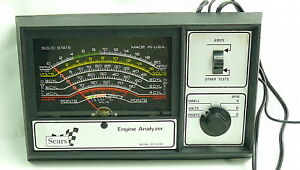Sears Engine Analyzer For 12 Volt Ignition Systems 28 2161