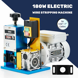 Automatic Scrap Cable Stripper Electric Wire Stripping Machine Copper Recycling