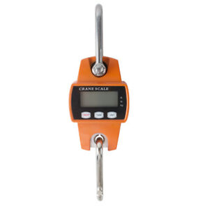 300kg 600 Lbs Digital Hanging Scale Portable Industrial Crane Scale Weighting