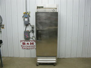 True T 19 Stainless Steel One Door 1 Dr Reach In Commercial Refrigerator Cooler