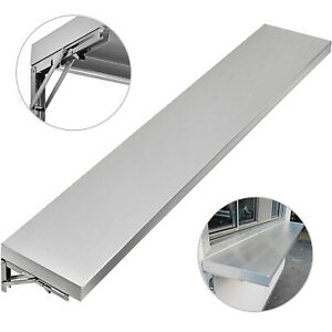 6ft Shelf For Concession Window Food Truck Restaurant Wall Shelf Stainless Steel