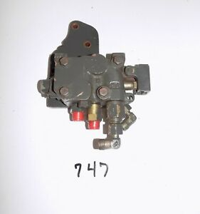 Mahindra Tractor Control Valve W Sub Plate Lever Assembly