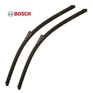 For Mercedes W207 W212 Pair Set Of Front Left Right 24 Windshield Wiper Blade