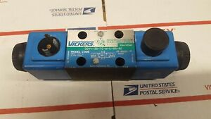 Vickers Solenoid Operated Directional Control Valves Dg4v