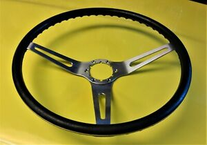 Oem Corvette Stock Comfort Grip Steering Wheel Black 1969 1975