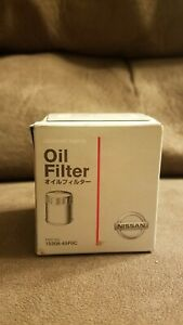 New Sealed Genuine Nissan Infiniti Oem Oil Filter 15208 65f0a Free Shipping