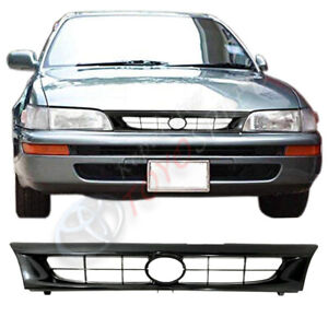 1993 1997 Fit For Toyota Corolla Ae100 Ae101 Gray Front Bumper Hood Grill Grille