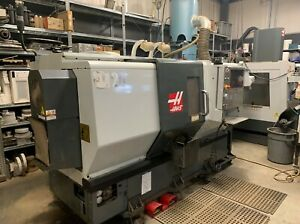 Used 2011 Haas St 20t Live Tool Cnc Turning Center Lathe C Axis Tooling Setter