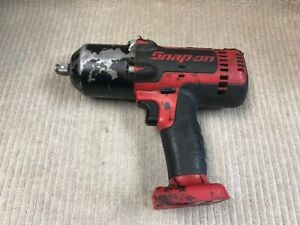 Snap on 18v 1 2 Cordless Impact Wrench Model Ct8850 bare Tool