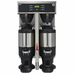 Curtis G3 Thermopro Twin 1 5 Gallon Coffee Brewer With Thermal Dispenser