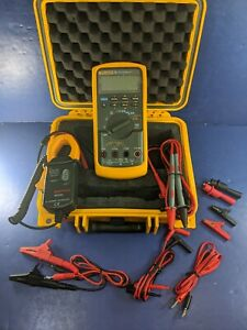 Fluke 787 Processmeter Screen Protector Hard Case Accessories Clamp
