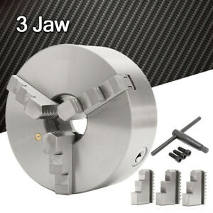 3 jaw 8inch Self centering Lathe Chuck Scroll Hardened 3000 R min For South Bend