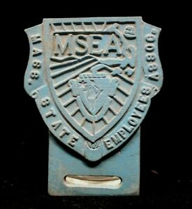 Vintage Msea License Plate Topper Classic Auto Car Hot Rod Custom Lowrider Bomb