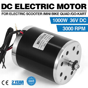 36v Dc Electric Motor E scooter 1000w Ty1020 3000rpm F Bike Go kart Minibike