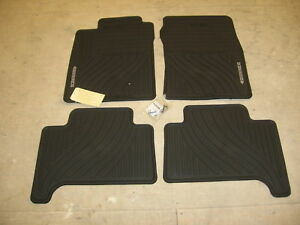 Toyota 4runner 03 09 4 Pc Oem Factory Rubber All Weather Floor Mats