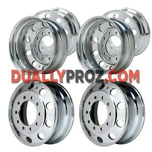 6 New Alcoa Dually 22 And 24 Polished Check Up To Date Pricing 330 2045818