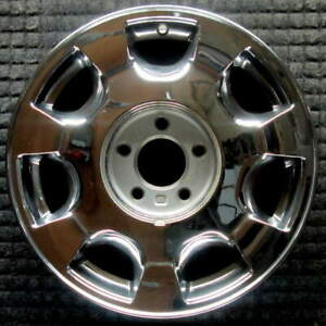 Cadillac Deville Chrome 16 Inch Oem Chrome Wheel 2000 To 2005