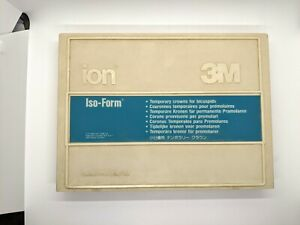 3m Ion Iso form Temporary Dental Crowns